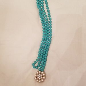 Stella and Dot Necklace and Brooch
